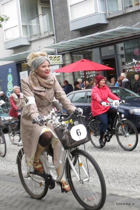 Tweed Ride - niður Laugaveg