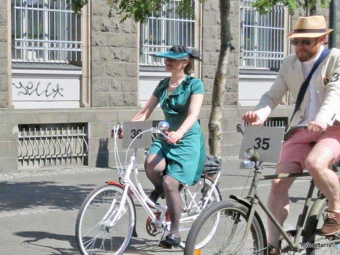 Tweed Ride Reykjavík 2014